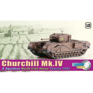 Model Kit tank 60503 - Churchill Mk.IV A' Sqd. North Irish Horse Tunisia 1943 (1:72)