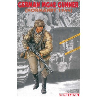 Model Kit figurky 1611 - GERMAN MG42 GUNNER (NORMANDY 1944) (1:16)
