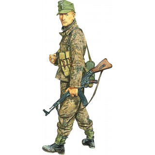 Model Kit figurky 1624 - UNTERSCHARFÜHRER, WIKING DIVISION (HUNGARY 1945) (1:16)