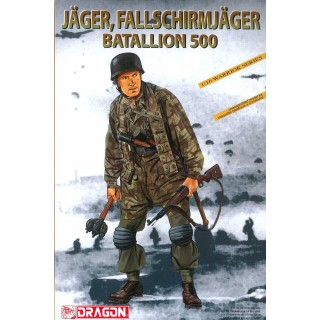 Model Kit figurky 1628 - JÄGER, SS-FALLSCHIRMJÄGER BATALLION 500 (1:16)
