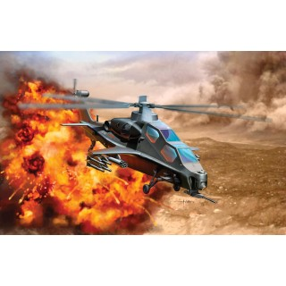 Model Kit vrtulník 4632 - PLA WZ-10 ATTACK HELICOPTER (1:144)