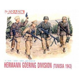 Model Kit figurky 6036 - HERMANN GÖRING DIVISION (1:35)