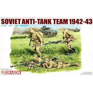 Model Kit figurky 6049 - SOVIET ANTI TANK TEAM 1942-43 (1:35)