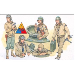 Model Kit figurky 6054 - US TANK CREW (1:35)