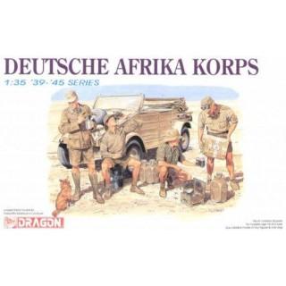 Model Kit figurky 6063 - DEUTSCHE AFRIKA KORPS (1:35)
