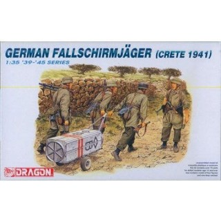 Model Kit figurky 6070 - GERMAN FALLSCHIRMJÄGER (1:35)