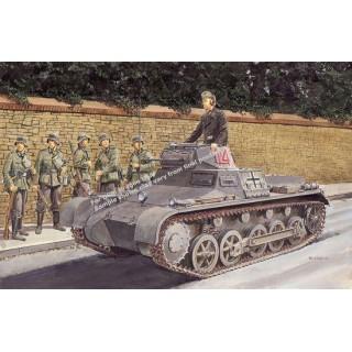 Model Kit tank 6186 - Pz.Kpfw. I Ausf. B (1:35)