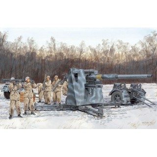 Model Kit military 6260 - 88mm FLAK 36 w/ FLAK ARTILLERY CREW (1:35)