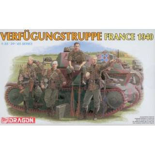 Model Kit figurky 6309 - VERFÜGUNGSTRUPPE (FRANCE 1940) (1:35)
