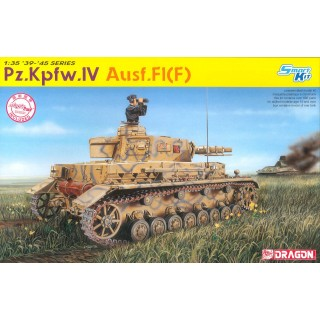 Model Kit military 6315 - Pz.Kpfw.IV Ausf.F1(F) (SMART KIT) (1:35)