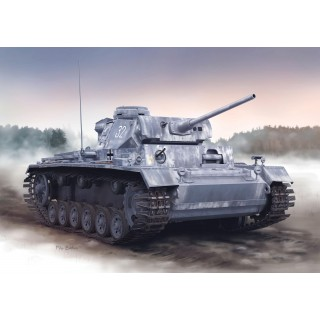 Model Kit tank 6387 - PZ.KPFW.III AUSF. L LATE PRODUCTION w/WINTERKETTEN (SMART KIT) (1:35)