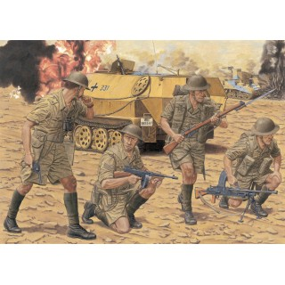 Model Kit figurky 6390 - BRITISH 8th ARMY INFANTRY (EL ALAMEIN 1942) (1:35)