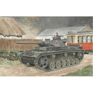 Model Kit tank 6394 - Pz.Kpfw.III Ausf.J (2 IN 1) (SMART KIT) (1:35)