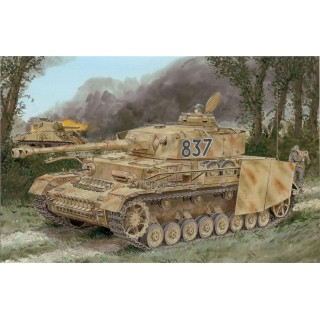 Model Kit military 6560 - Pz.Kpfw.IV Ausf.H LATE PRODUCTION w/ZIMMERIT (1:35)