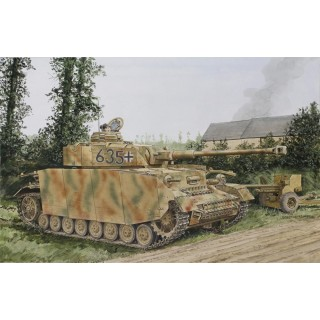 Model Kit tank 6611 - Pz.kpfw.IV Ausf. H Mid Production w/ Zimmerit (1:35)