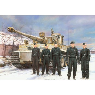 Model Kit tank 6730 - TIGER I EARLY PRODUCTION (MICHAEL WITTMANN), EASTERN FRONT 1944 (1:35)