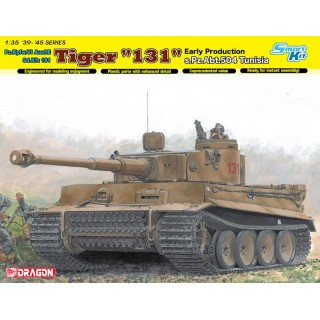"Model Kit tank 6820 - Tiger I ""131"" s.Pz.Abt.504 Tunisia (1:35)"