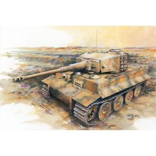 Model Kit tank 7251 - Sd.Kfz.181 Ausf.E TIGER I MID PRODUCTION w/ZIMMERIT (1:72)