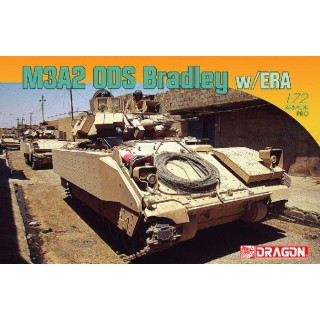 Model Kit tank 7333 - M3A2ODS BRADLEY w/ERA (1:72)