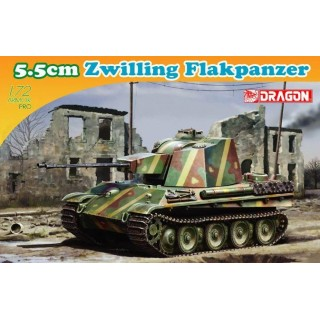 Model Kit tank 7488 - 5.5cm ZWILLING FLAKPANZER (1:72)