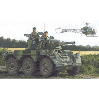 Model Kit military 3554 - BRITISH ARMORED CAR SALADIN Mk.II (1:35)