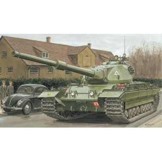 Model Kit tank 3555 - BRITISH HEAVY TANK CONQUEROR (1:35)