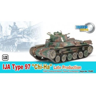 "Dragon Armor tank 60435 - IJA TYPE 97 ""GHI-HA"" LATE PRODUCTION (1:72)"