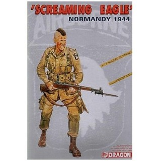 Model Kit figurky 1605 - SCREAMING EAGLE (NORMANDY 1944) (1:16)