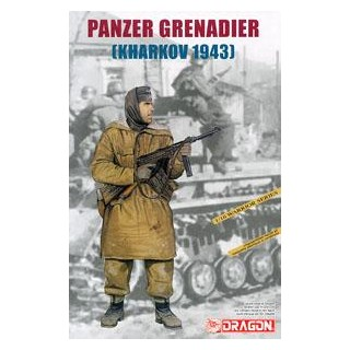 Model Kit figurky 1613 - PANZER GRENADIER (KHARKOV 1943) (1:16)
