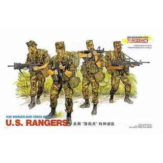 Model Kit figurky 3004 - U.S. RANGERS (1:35)