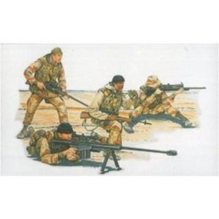 Model Kit figurky 3016 - U.S. SNIPER TEAM (1:35)