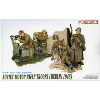 Model Kit figurky 6019 - SOVIET MOTOR TROOPS (BERLIN 1945) (1:35)