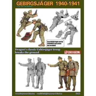 Model Kit figurky 6345 - GEBIRGSJÄGER 1940-1941 (1:35)