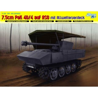 Model Kit military 6679 - 7.5cm PaK 40/4 auf RSO mit Allwetterverdeck (1:35)