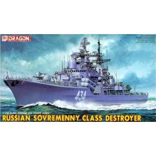 Model Kit loď 7027 - RUSSIAN SOVREMENNY CLASS DESTROYER (1:700)
