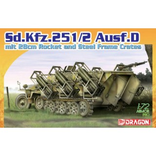 Model Kit military 7348 - Sd.Kfz.25 1/2 Ausf.D (1:72)