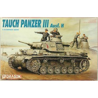 Model Kit tank 9033 - TAUCH PANZER III Ausf. H (1:72)
