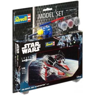 ModelSet SW 63607 - Obi-Wan´s Jedi Starfighter (1:58)