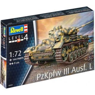 Plastic ModelKit tank 03251 - PzKpfw III Ausf. L (1:72)