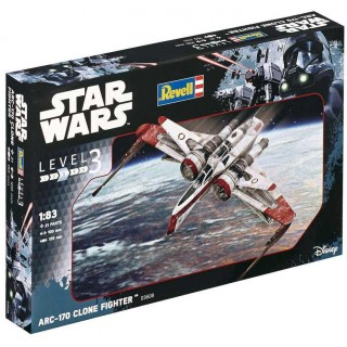 Plastic ModelKit SW 03608 - ARC-170 Clone Fighter (1:83)