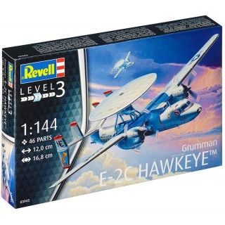 Plastic ModelKit letadlo 03945 - E-2C Hawkeye (1:144)