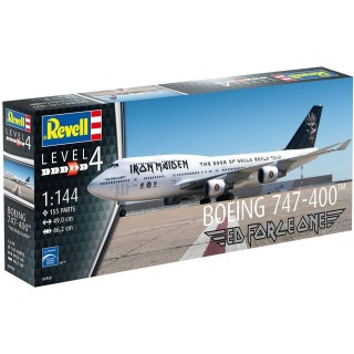 "Plastic ModelKit letadlo Limited Edition 04950 - Boeing 747-400 ""IRON MAIDEN"" (1:144)"