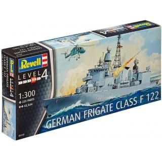Plastic ModelKit loď 05143 - German Frigate Class F122 (1:300)