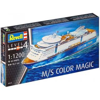 Plastic ModelKit loď 05818 - M/S Color Magic (1:1200)