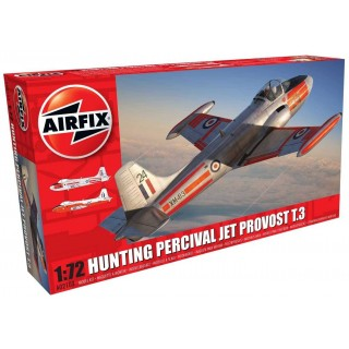 Clasic Kit letadlo A02103 - Hunting Percival Jet Provost T.3/T.3a (1:72)