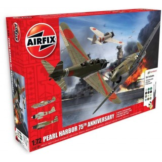 Gift Set letadla A50180 - Pearl Harbor - 75Th Anniversary (1:72)