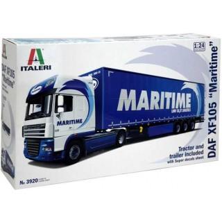 "Model Kit truck 3920 - DAF XF105 ""Maritime"" (1:24)"