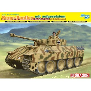 Model Kit tank 6835 - Berge-Panther mit Aufgesetztem Pz.Kpfw.IV Turm Als Befehlspanzer (1:35)