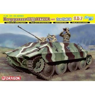 Model Kit tank 6399 - Jagdpanzer 38 mit 2cm FlaK 38 (Smart Kit) (1:35)