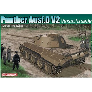 Model Kit tank 6830 - Panther Ausf.D V2 Versuchsserie (Smart Kit) (1:35)